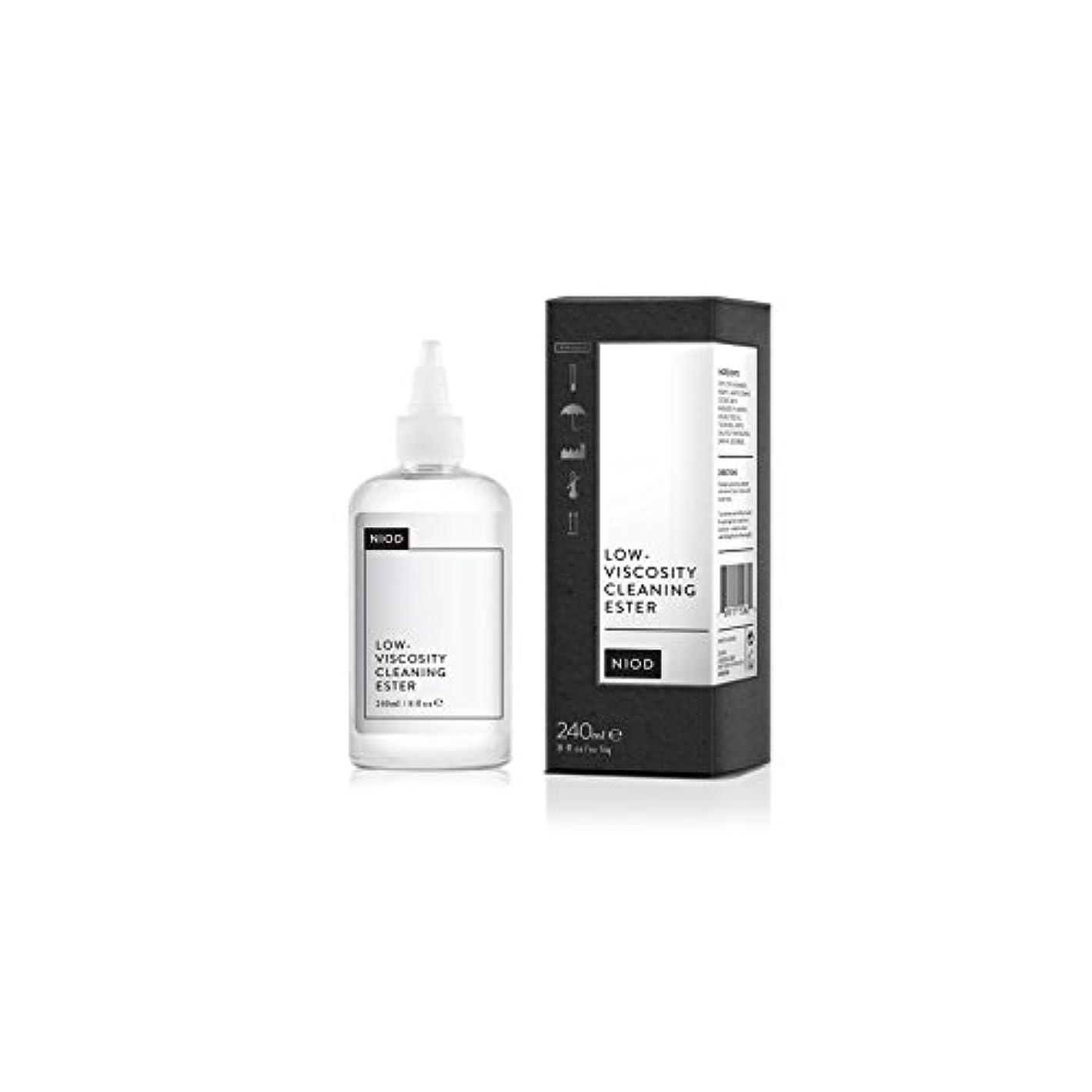 ウサギチーズ推定Niod Low-Viscosity Cleaning Ester (240ml) (Pack of 6) - 低粘度のクリーニングエステル(240ミリリットル) x6 [並行輸入品]
