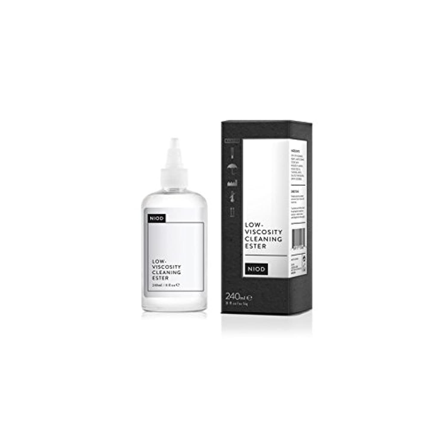敷居貞降伏低粘度のクリーニングエステル(240ミリリットル) x4 - Niod Low-Viscosity Cleaning Ester (240ml) (Pack of 4) [並行輸入品]