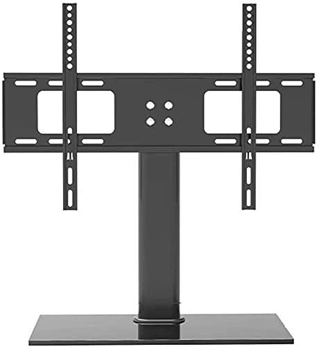 YAOJIA Soporte TV Pared TV De Sobremesa Universal con Base De Vidrio para La Mayoría De Los LED OLED De 32 A 65 Pulgadas | Soportes Planos Y Curvos para Televisores Fijos , MAX VESA 600x400mm