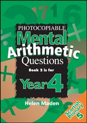Year 4 Photocopiable Mental Arithmetic Questions: Bk.2 (Ks2 Numeracy Resources) by Topical Resources