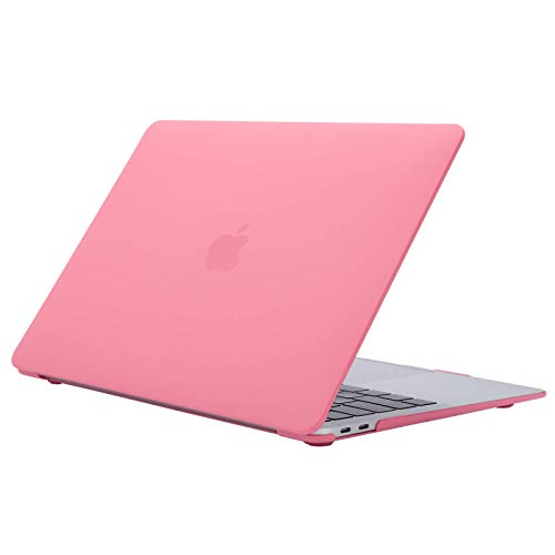 Baconlin MacBook Air 13' Case A2237/A2179/A1932 with Retina Display Release in 2020 2019 2018, Cream Color Series Non-Slip Plastic Hard Shell Case for MacBook Air 13' with Touch ID