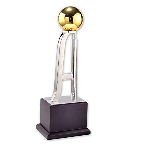 SPORS Football Awards Trophy Cup, Trofeo de estatuilla de Metal para los ganadores del Regalo de aleación de Zinc-Aluminio para premios de Competencia -15.0 Pulgadas de Alto