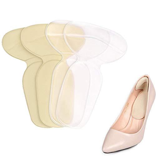 2 Paar Kussen Grips Hak Pads Voegt Grips,Schoenen Laarzen Hoge Hakken Inserts voor Vrouwen Gel Inserts Inlegzolen Liners Heel Pad