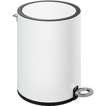 Blomus Tubo Treteimer Mülleimer Abfall Eimer Kunststoff Stahl Anthrazit 3 L