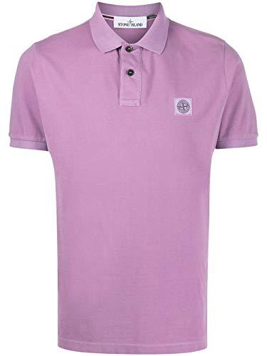 Stone Island Luxury Fashion Herren 721522S67V0086 Violett Baumwolle Poloshirt | Frühling Sommer 20