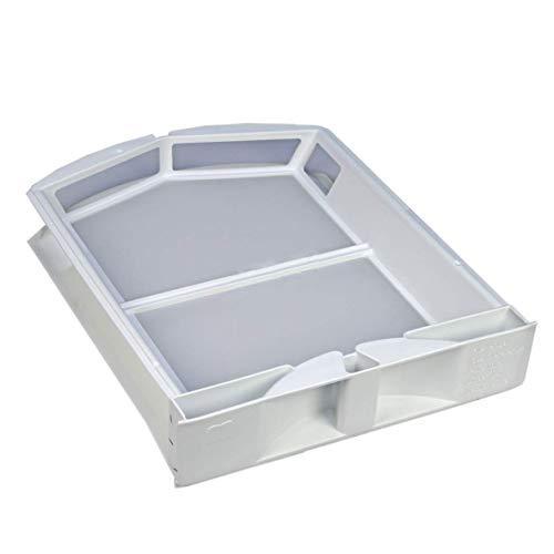 DL-pro Flusensieb Türsieb Sieb passend für Miele 6244611 6244610 Waschtrockner Trockner