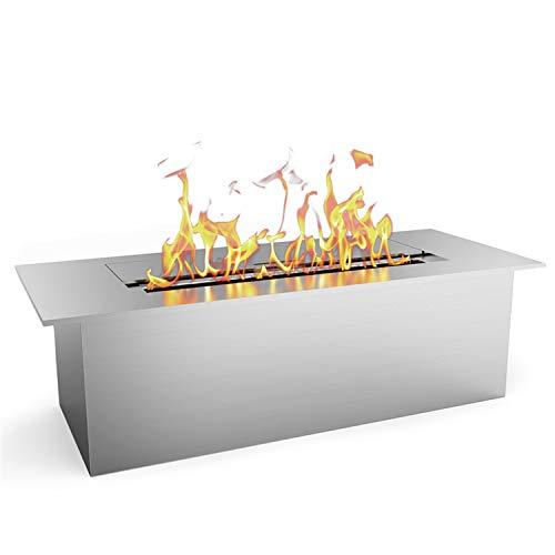 Regal Flame Slim 12 Inch Bio Ethanol Fireplace Burner Insert 1.5 Liter. All Types of Indoor, Gas...