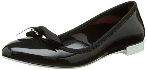 Lemon Jelly Damen Bow Ballerina, Schwarz, 38 EU