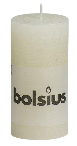 BOLSIUS RUSTIC Stumpenkerze 100 x 50 mm elfenbein