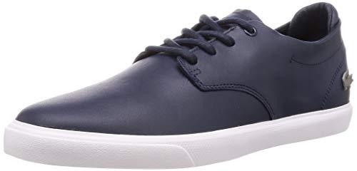 Lacoste Herren ESPARRE BL 1 CMA Sneaker, Blau (Navy/White), 42 EU