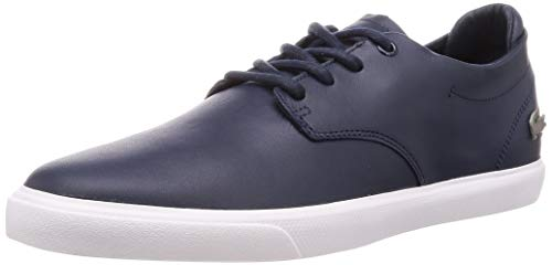 Lacoste Mens ESPARRE BL 1 CMA Sneaker, Blau (Navy/White), 44 EU