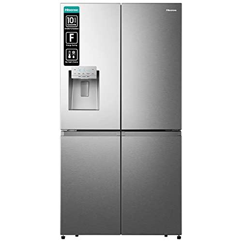 Hisense RQ760N4AIF Cross Door/Look Acciaio Inossidabile/TotalNoFrost/Dispenser Acqua/178,5 cm Altezza/Zona di raffreddamento: 347 L/Zona di congelamento: 84 L