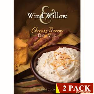 Wind & Willow Gourmet Dip Mix 2-Packs (Cheesy Bacon Dip Mix)