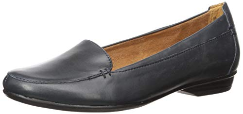 Naturalizer Women's Saban Loafer Flat, Navy, 9.5 W US