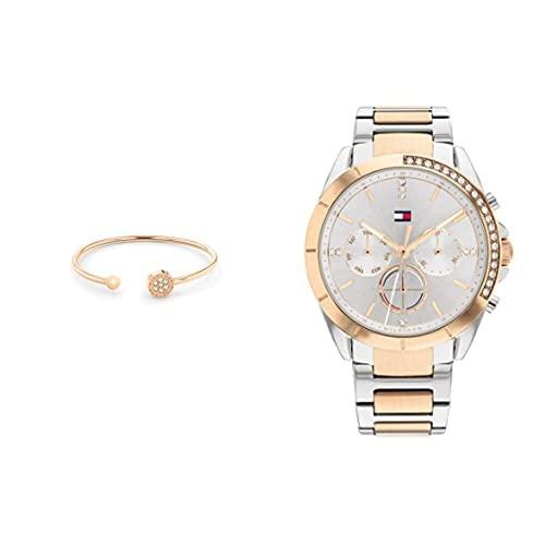 Tommy Hilfiger Damen-Armreif/Armbanduhr 1782387