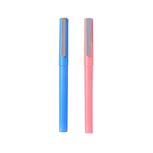 2 x 5D-Diamant-Malerei Pergament-Papierschneider, Keramikklinge, um die Abdeckung perfekt zu schneiden, Malen mit Diamanten, Werkzeug Zubehör (blau und rosa)