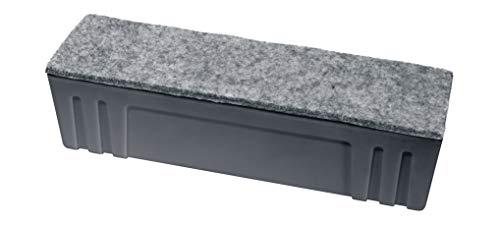 SIGEL MU204 Brosse effaceur de tableau / tableau blanc, magnétique, anthracite
