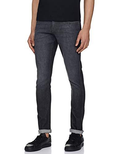 Wrangler Men's Skinny Fit Jeans (W38483W22SMU034033_Jsw-Black_34W x 33L)