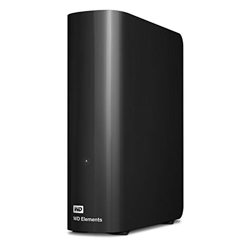 HD Externo 8TB USB 3.0 Western Digital Elements - WDBWLG0080HBK - Preto