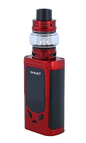 Smok R-Kiss E Zigarette Set   R-Kiss 200 Watt   TFV8 Baby V2 Verdampfer   2x Baby V2 Heads - Farbe: rot-schwarz