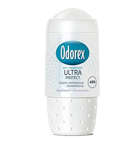 3 x Odorex WOMEN Deodorant Roll-on Antitranspirant - Ultra Protect - 50 ml