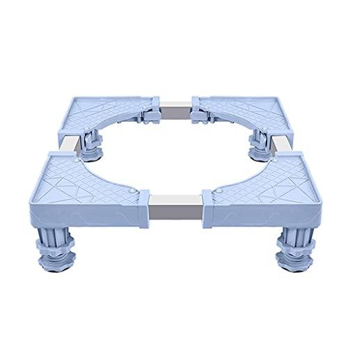 YWSZJ Máquina de Lavadora Mobile Universal Fridge Base Multifuncional Ajustable Base Ajustable para frigorífico Secador