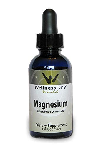 Magnesium - High Absorption Liquid Ionic Mineral Supplement for Muscle Relaxation & Recovery, Sleep, Leg Cramps - Adjustable for Kids, Men and Women - Vegan, Non-GMO - 75 Day Supply - 50 mg per dose