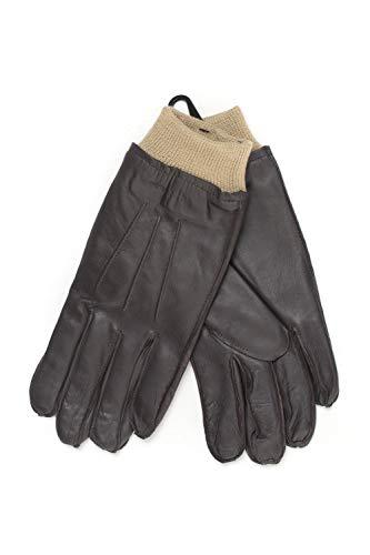GANT Handschuhe aus braunem Leder für Herren, Braun Large