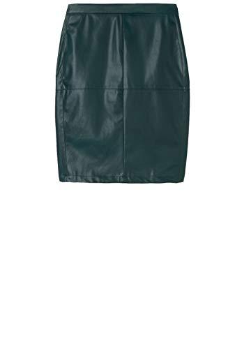 Sandwich Kleding - Faux lederen potlood rok, zwart