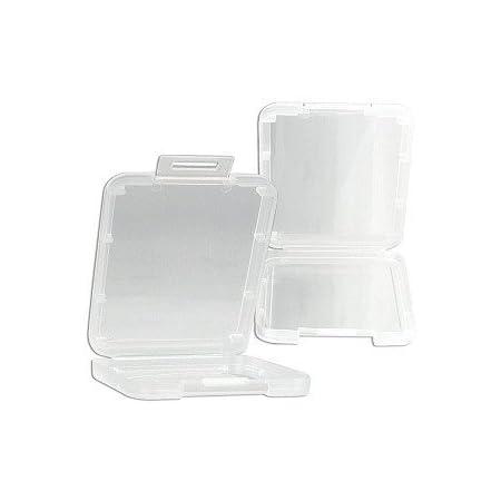Transparent CF TF Micro SD SDHC Memory Card Case Plastic Holder Storage Box