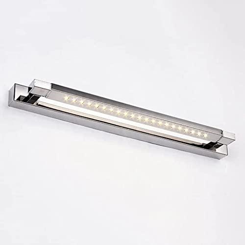 Oświetlenie Szafy LED Ciepłe Białe Lampy Łazienkowe Oświetlenie Toaletki 46cm 5W Do Szafy Z Lustrem Kosmetycznym W Kuchni (Color : A, Size : 62cm 7W)