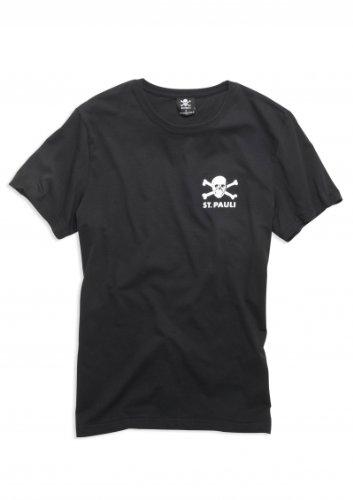 Camiseta St. Pauli Skull, negra
