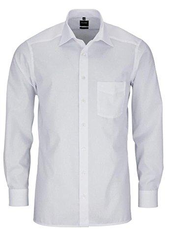 Modern Fit Hemd Langarm m New Kent Kragen 42 [Weiß]