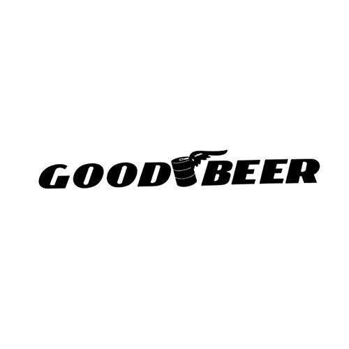 Empty 16.7CM * 2CM goed bier grappig raam vinyl hoogwaardige autosticker grafisch 4 stuks