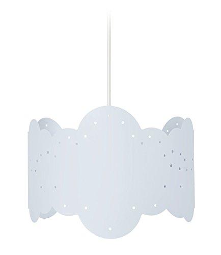 Tosel 17324 Suspension 1 Lumière, Acier, E27, 40 W, Gris, 20 x 90 cm