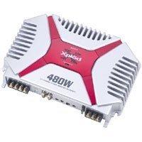 Xplod Series 2/1 Channel Car Amplifier w/ 480-Watts Maximum Power & Class A/B Circuitry