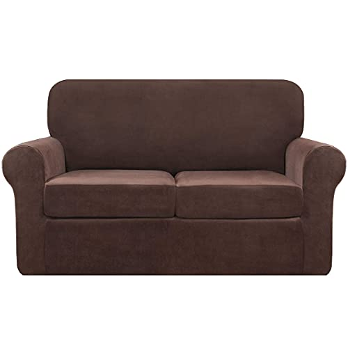 145-178cm Funda de sofá de Damasco Jacquard con Funda de sofá elástica Muebles con Motivos Florales Funda de sofá de Damasco Jacquard con Funda de sofá elástica Muebles con Motivos Florales