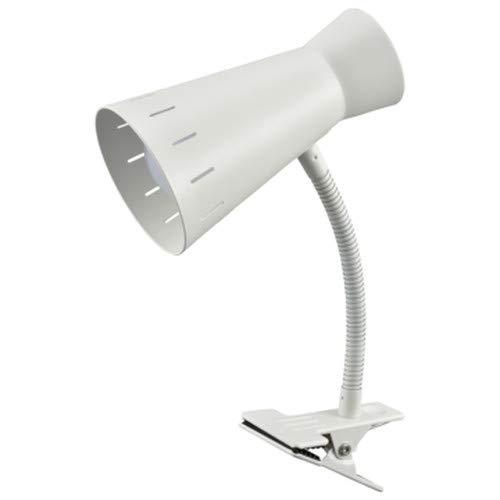 オーム電機 LEDクリップライト(昼光色/650Lm/ホワイト) LTC-L2D8AW