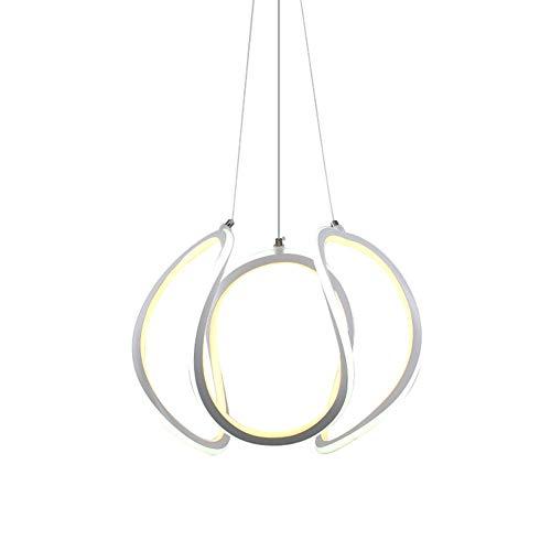 Jumro LED hanglamp eettafel hanglamp 135 W landelijke stijl acryl lampenkap design kroonluchter AC110-240 V