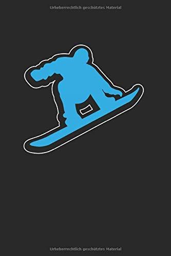 Snowboard | Notizheft/Schreibheft: Snowboard Notizbuch Mit 120 Karierten Seiten (Squared) Inkl. Seitenangabe. Als Geschenk Eine Tolle Idee Für Profi Snowboarder Oder Schnee Fans