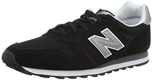 New Balance 373 Core U, Scarpe Trainers Uomo, Nero (Black), 46.5 EU