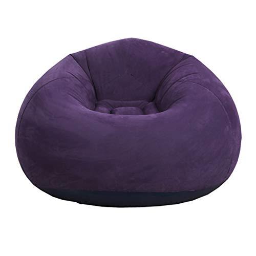 CALIDAKA Bean Bag Chair (No Filler), Air Sofa Outdoor Inflatable Lazy Sofa Chair,Washable Couch Bean Bag Chair Folding,for Organizing Plush Toys Or Memory Foam