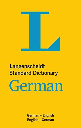 Langenscheidt Standard Dictionary German: German-English/English-German