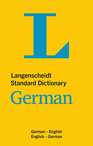 Langenscheidt Standard Dictionary German: German-English/English-German (Langenscheidt Standard Dictionaries) (English and