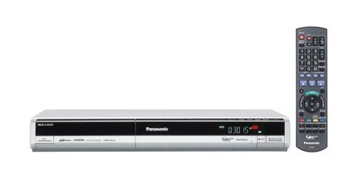 Panasonic DMR EH 575 EG S DVD- und Festplattenrekorder 160 GB (DivX-zertifiziert, Upscaling 1080i, HDMI) silber