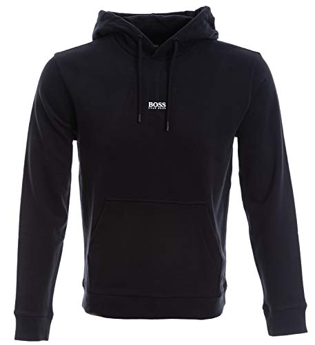 BOSS Herren Weedo 2 10234069 01 Sweatshirt, Black1, L EU