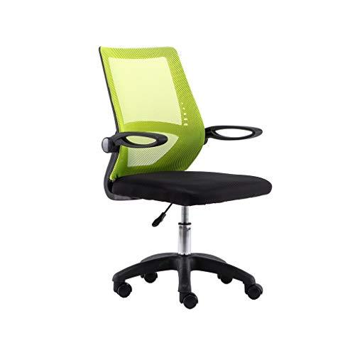 FENXIXI Silla de oficina para el hogar y la oficina, silla ergonómica y elegante y giratoria para computadora y silla