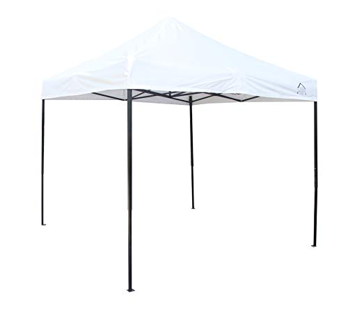 All Seasons Gazebos 2.5 x 2.5m Heavy Duty, Fully Waterproof Pop up Gazebo (White)