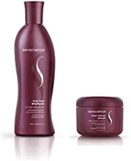Kit Shampoo e Máscara Senscience True Hue (300ml e 150ml)