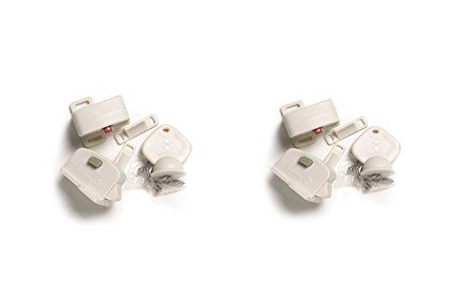 Safety 1st Child Safety Locks / Magnetic Cabinet Locks - Locking System - 2 Pack Set